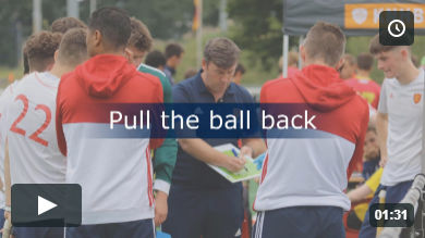 Pull the ball back