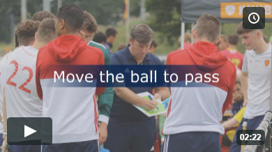 Move the ball to pass