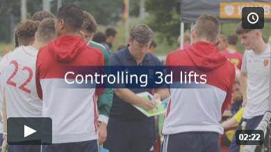 Controlling 3d lifts
