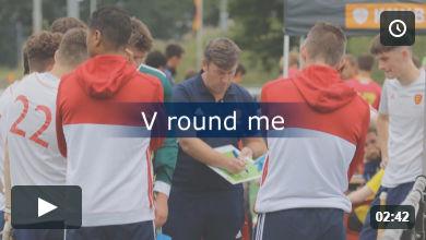 V round me